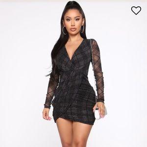 🦄 3 for $35 Fashion Nova Long Night Mini Dress 🍾